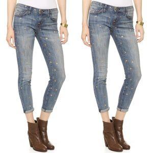 Current Elliott The Fling Saratoga mini star jeans